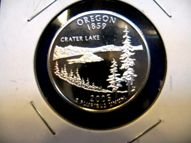 2005 - S Washington  Statehood Quarter  Oregon 1859 Gem Proof  Combined Shipping