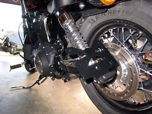 Kawasaki vn 800 Classic latérale support de plaque d/'immatriculation sur le côté
