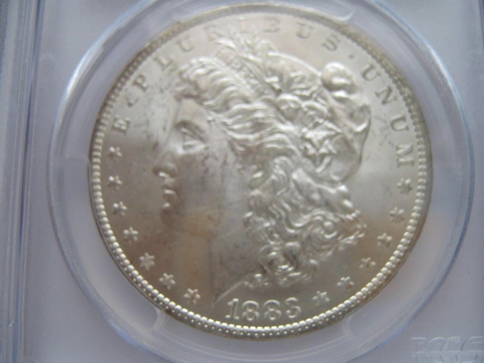 1883-O , Morgan Silver Dollar , PCGS , MS 62
