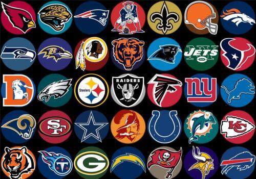 NFL Team Logo/'s Giant 1 Piece  Wall Art Poster NFL103