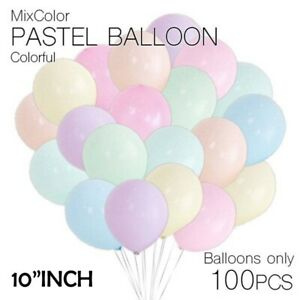 100Pcs-10-Macaron-Candy-Pastel-Latex-Balloon-Wedding-Party-Decor-Birthday
