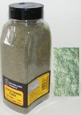 Woodland Scenics N / HO / O scale ~ LIGHT GREEN ~ Static Grass Flock ~ FL634