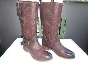 Damen 38 Stiefel Leder Braun Feines Pakros Schuhe Gr Comfort TcFKJ3u1l