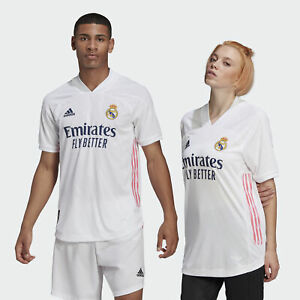 adidas Real Madrid 20/21 Home Authentic Jersey Men's | eBay