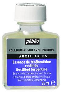 Pebeo-Rectified-Turpentine-75ml-Artists-Oil-Painting-Medium