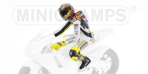 Valentino Rossi Driver Riding Figure Valencia Motogp 2003 1 12 Model MINICHAMPS