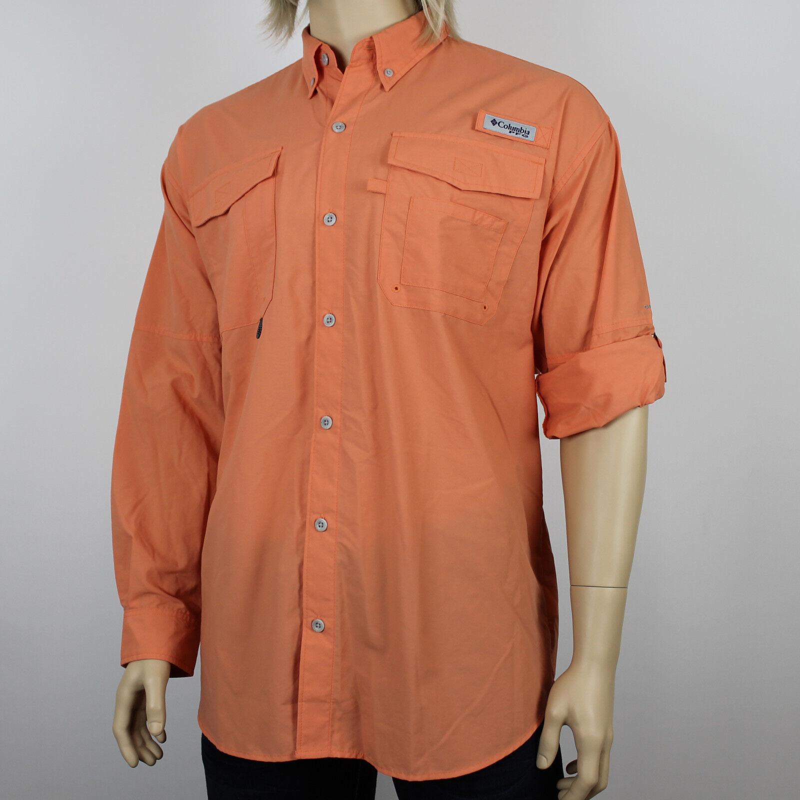 25543e251c4e1c New Mens Columbia Bahama II. Fishing Sleeve Shirt Long PFG  nxnqqk3158-Casual Shirts   Tops