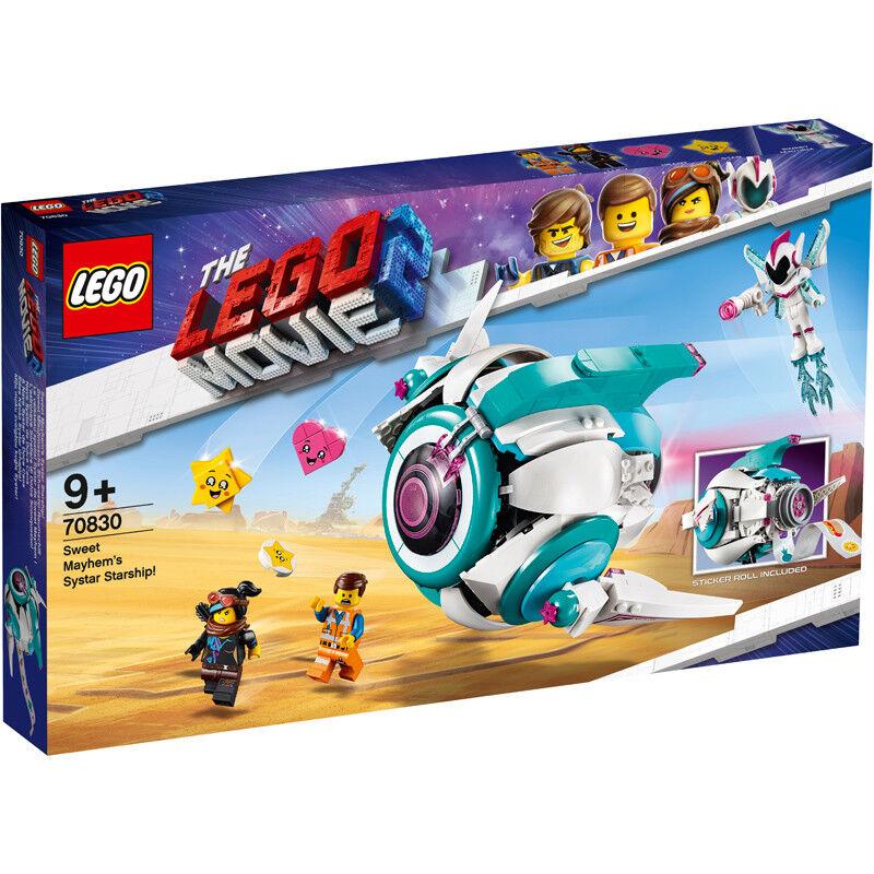 Lego The Lego Movie 2 Sweet Mayhem's Systar Starship  - 70830 - NEW