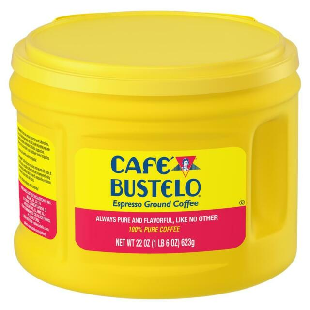 Best Ground Coffee 2021 Café Bustelo Espresso Ground Coffee Canister 100% Authentic EXP 2