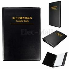 SMD SMT Resistor Capacitor Assortment Electronic Components Sample Book 20 Pages