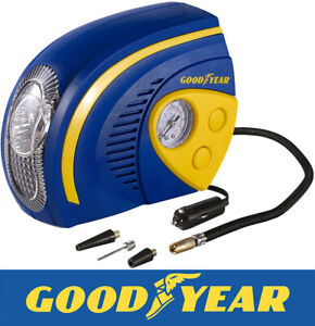 Goodyear-2-in-1-Tyre-Air-Compressor-Inflator-With-LED-Light-Car-Bike-Bicycle