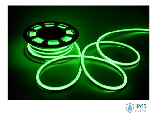 24V Bobina Striscia Led Neon Flex 10 Metri IP65 8W//M Laterale 160° Dimmerabile