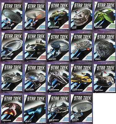 Star Trek Starships Eaglemoss Magazines Issues 1-64 /& Specials Collection Lot