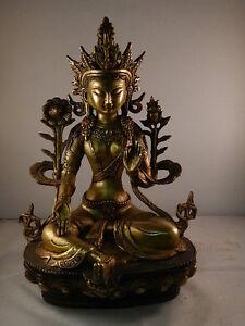 B256 tibet buddha guanyin g ttin hochzeitsschrank grun for Hochzeitsschrank tibet
