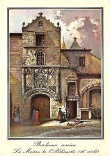B53085 Bordeaux ancien La maison de l'Alchimiste   france