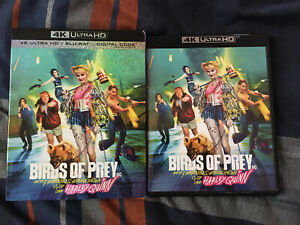 Birds Of Prey 4k Ultra Hd Blu Ray W Slipcover Dc Dceu Harley Quinn 883929701278 Ebay