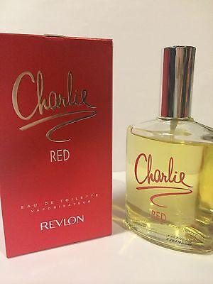 Charlie Red by Revlon for Women Eau De Toilette Spray 3.4oz/100ML