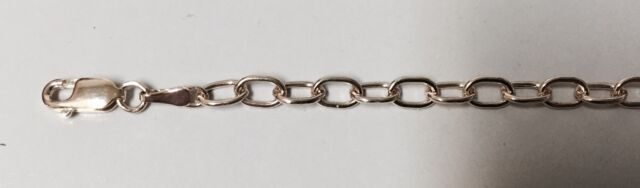 """14K SOLID  YELLOW GOLD CHARM BRACELET """"NEW"""" 7"""" LONG"""