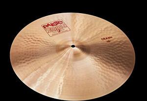 Paiste-2002-Classic-Series-18-034-Crash-Cymbal-Becken-Neu-Piatto-Plattilo-Cymbale