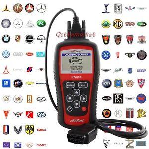 KW808 Autel Diagnostic Scanner Code Reader Car Tool MaxiScan CAN OBD2 EOBD OY