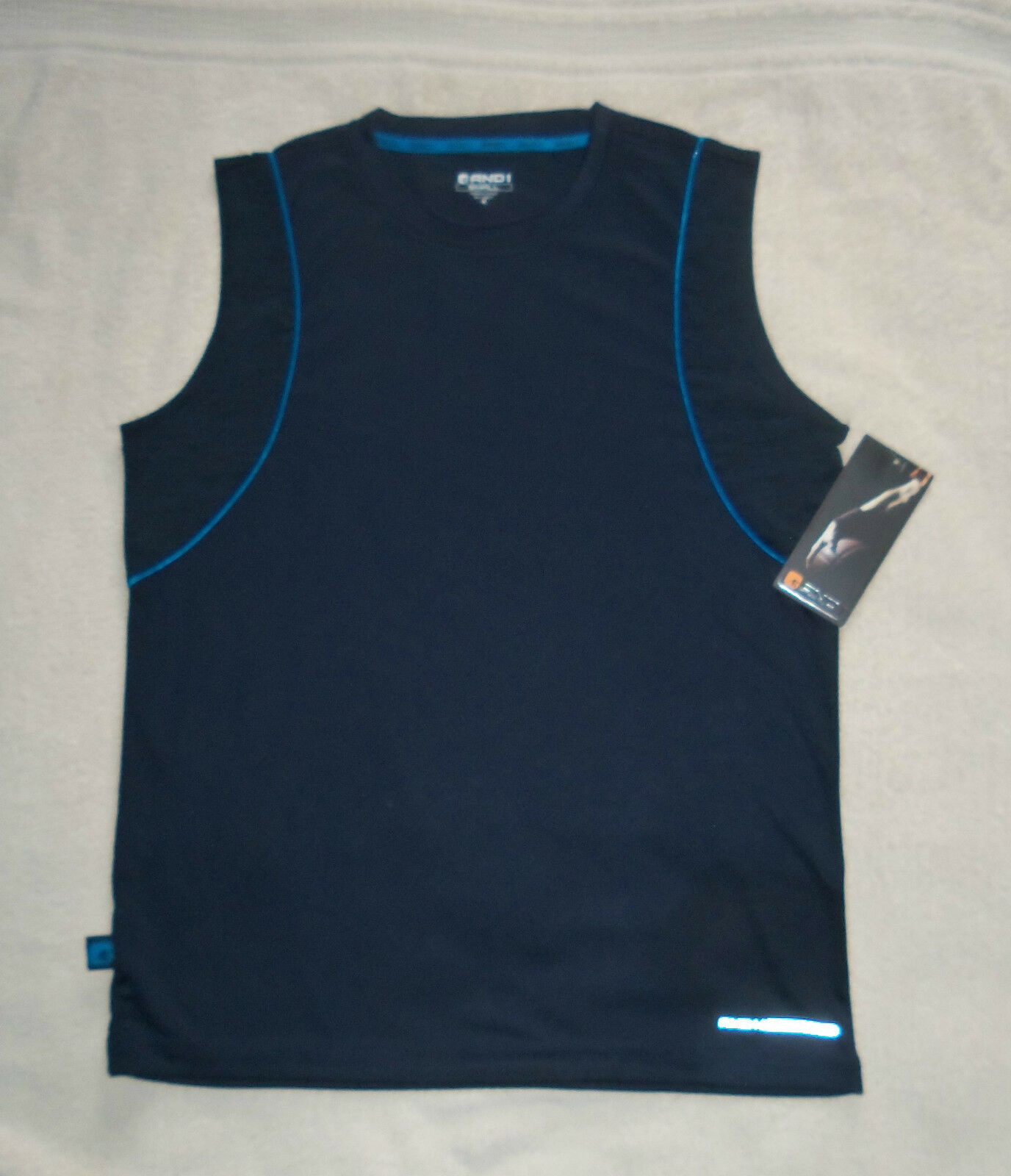AND1 Navy Blue Performance Basketball Vest - New with Tags - Small