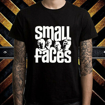 THE SMALL FACES Rock Band Legend Logo Men/'s Black T-Shirt Size S to 3XL
