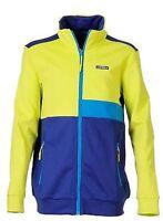 Icepeak Boys Henrik U Thermal Full Zip Jacket Lime/blue 11-12 Years