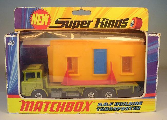 Matchbox Super Kings k-13 DAF Building Transporter in O-Box