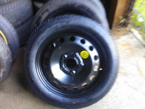 "VW Volkswagon TOURAN 16 /""Space Saver ruota di scorta /& pneumatico,"
