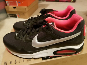 best loved 26624 ff76f Image is loading New-Nike-Air-Max-Skyline-Black-White-Red-