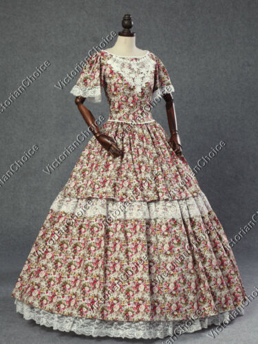 Victorian Costume Dresses & Skirts for Sale    Victorian Southern Belle Civil War Prairie Gown Dress Theater Clothing 168 $145.00 AT vintagedancer.com