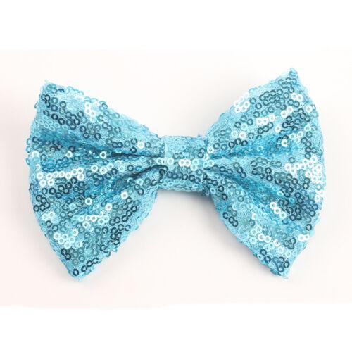 Baby Girls Hairpin Headdress Hair Clip Glitter Bowknot Headband Hair Accessories