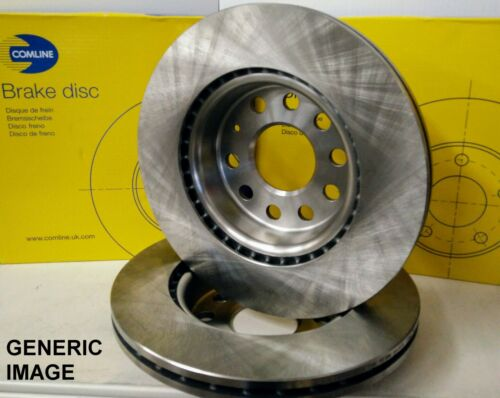 2X REAR BRAKE DISCS FOR AUDI A1 A2 A3 SEAT SKODA VW 1.4 1.6 1.9 2.5 TDI GTI 16V