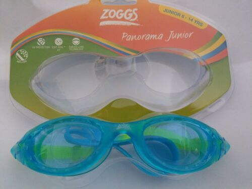 Buy 2 for £15.50 Zoggs Panorama Junior swimming goggles Age 6-14 BLUE
