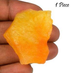US Seller 1 Piece Madagascar Yellow Sapphire Gemstone Rough Natural 100-150 Ct
