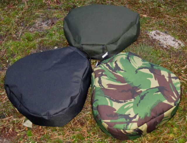 Bisley Shooting Cushion Filled Black Black
