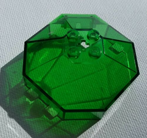 Lego Transparent Green Octoganal 6x6 Windscreen in Hydronauts sets 6199 6110