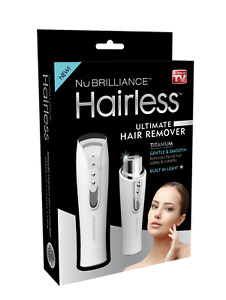 Hairless By NuBrilliance - The Ultimate Hair Remover – As Seen on TV! Silver