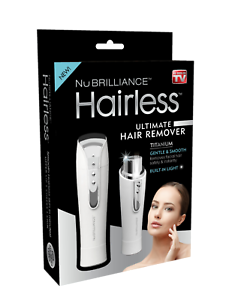 Hairless-By-NuBrilliance-The-Ultimate-Hair-Remover-As-Seen-on-TV-Silver