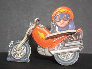 Jouet kinder puzzle 3D Motard K03 103 France 2002 +BPZ SuLLkirB-08025528-388638689