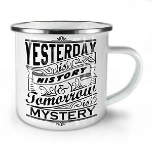 Yesterday History NEW Enamel Tea Mug 10 oz | Wellcoda