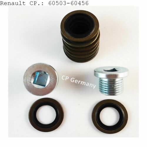 Renault  1x Oelablassschraube  M16x1,5 3 Dichtringe #60456 cp-#60503
