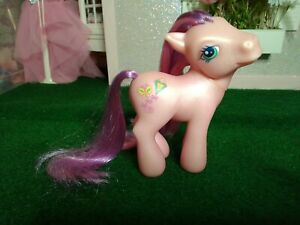 My Little Pony G3 Skywishes Perfectly Ponies Wave 1 2004 pink