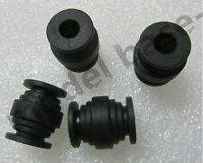 4pcs Vibration Dampening Rubber Balls Anti Jello Gimbal (Black)