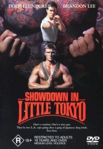 1 of 1 - Dolph Lundgren & Brandon Lee Movie_DVD R18+ Showdown In Little Tokyo_RARE OOP