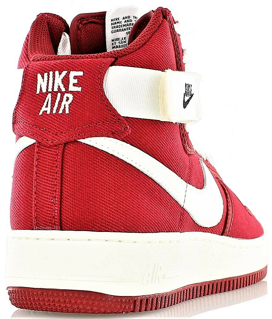 Scarpe Uomo Donna Rossa Nike Scarpe da Ginnastica Ginnastica Ginnastica Uomo Woman Red Air Force 1 High Retro 61f2c4