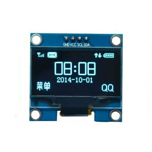 "1.3/"" White OLED LCD 4PIN Display Module IIC I2C Interface 128x64 for Arduino"