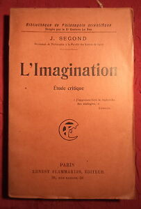 1922-L-039-imagination-etude-critique-Joseph-Segond
