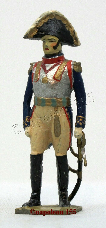 Figurine, Soldat de Plomb Ancien greenUNNI. General Nansouty, I er EMPIRE
