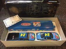 JEFF GORDON DUPONT PEANUTS BROOKFIELD COLLECTOR SHOW TRAILER & NASCAR COA & BOX